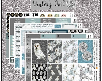 Winter Owl weekly kit  for EC and HP and HPBIG ...and add ons