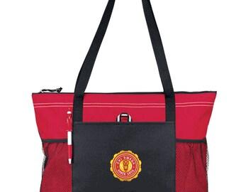Chi Omega Venture Emblem Tote Bag