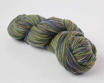 Hand Painted Super Wash Merino Sock Yarn
