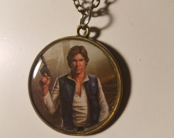 Han Solo Pendant Necklace or Keychain