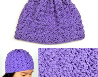 Cozy Hat - 5 Sizes - PDF Crochet Pattern - Instant Download
