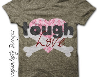 Love Iron on Transfer - Valentine Iron on Shirt PDF / DIY Love Shirt Valentine Printable / Kid Girl Clothing Tshirt / Infant Clothes IT155