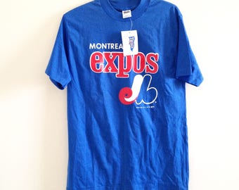 Montreal Expos Vintage Trench T Shirt NWT