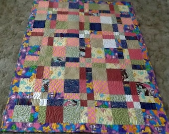 Baby Quilt Girl, Baby Quilt Pink, Toddler Quilt Pink,Quilts for Kids