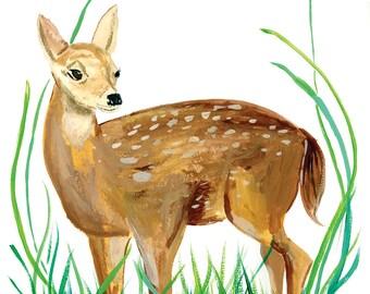 Hope, Deer | Watercolor | Art Print