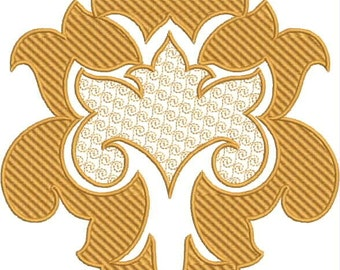 Instand download  Arabesque Pattern embroidery design