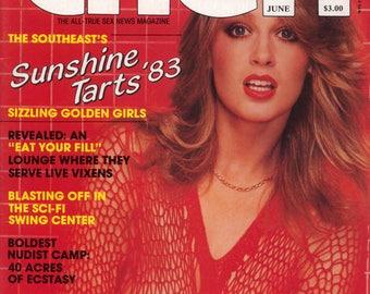 Cheri Magazine vol 7 n 11 June 1983 Near Mint condition Mature
