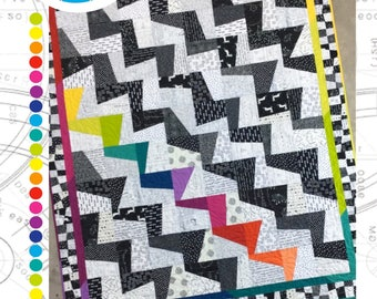 Colourstruck Quilt Pattern