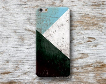 Blue Geometric Phone Case for iPhone 4 4s 5 5s SE 5C 6 6S 7 8 PLUS X iPod Touch 5 6 Oneplus 2 3 5 1+2 1+3 1+5