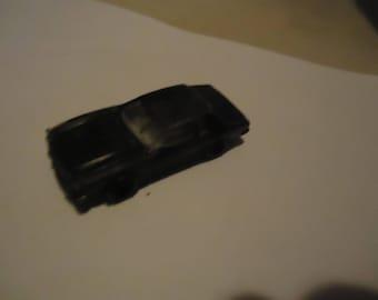 Vintage Black Die cast Toy Car, collectable