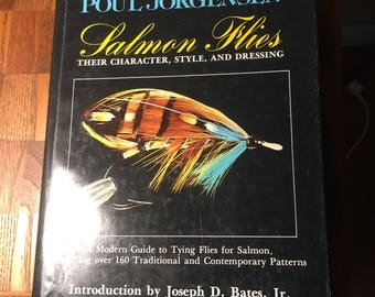 Fly tying book salmon flys