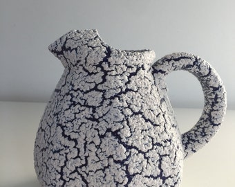 Jug pitcher ceramic fat lava