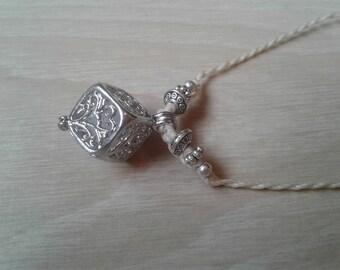 Macrame set Cube pendant
