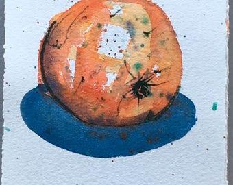 Orange 2  - Original watercolour