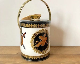 Vintage Murray Allen Tin / Crusader Tin / Assorted Candy Tin / Container Made In England