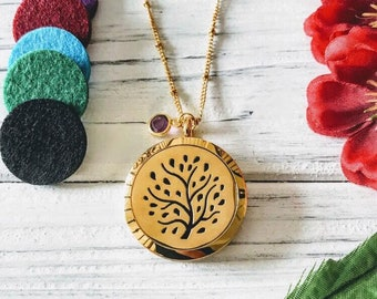 Aromatherapy Necklace, Essential Oil Necklace, Diffuser Necklace Locket, Oil Diffuser Necklace, Aromatherapy Locket, Mother's Day Gift, Gift