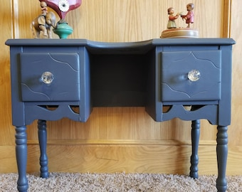 Antique Gorgeous Toddler's Two Drawer Desk
