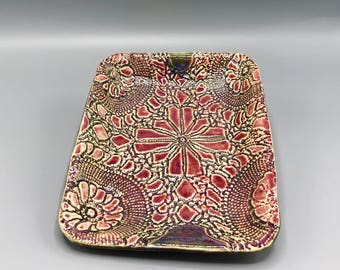 Lace Serving Plate