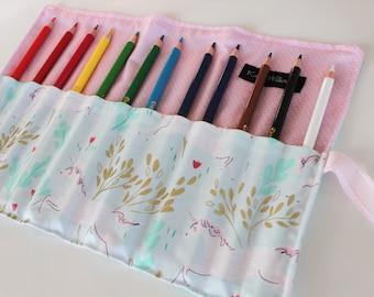 Unicorn Colored Pencil Holder-Easter Gift-Teen Gift-Girl Easter Basket Gift-Unicorns-Girl Birthday Gift-Travel Art-Girl Gift
