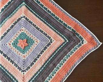 Circus Star Baby Blanket Pattern