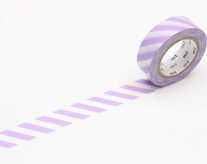 MT Washi tape - lilac stripe 2