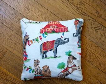 Circus pillow cover