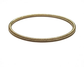 Serpentine Full Coil Bangle | Bronze | Ready to Ship