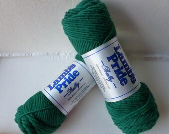 Yarn Sale  - Christmas Green Lamb's Pride Bulky  - Seconds -by Brown Sheep Company