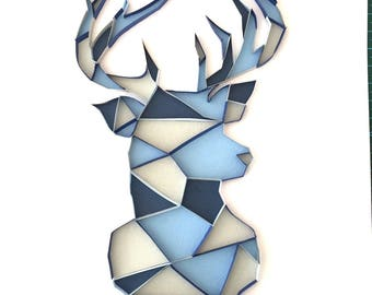Quilled Art - Stag