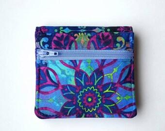 Mini Wallet, Women's Wallet, Fabric Wallet, Bifold Wallet, Get Carded, Small Wallet, Ladies Wallet,