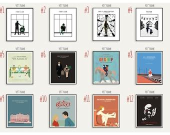 SALE - Buy Any THREE Prints, Modern Movie Posters.