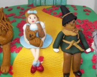 Wizard of oz cake toppers