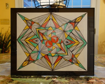 Abstract Geometry with Color by Eloiza Amaral