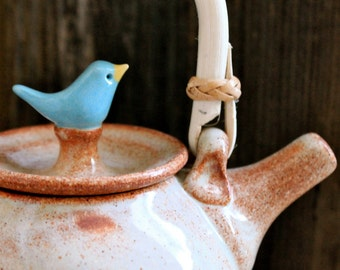 Custom-Made Birdie Teapot - 4 to 6 Weeks for Delivery- Wedding Gift