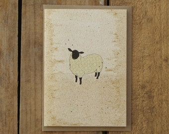 Speckled Sheep Card