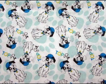 Disney fabric- 101 Dalmations Fabric- 101 Dalmations Top Pup Fabric From Springs Creative