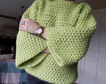 The Green Eyed Monster Jumper (Pattern)