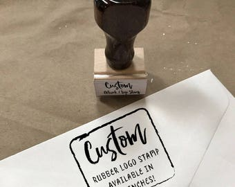 Custom Logo Handstamp, Custom Rubber Stamp