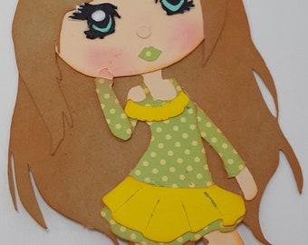 Paper Doll Autumn Spice - (AI, dxf, eps, jpg, pdf, png, Studio, SVG) – Instant Download