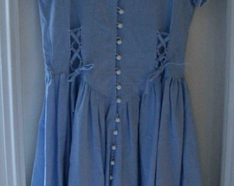 Maxi dress sky blue size 1