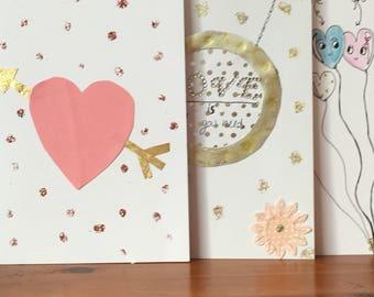 handmade romantic  card