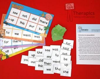 Bingo Dolch sight words - Set 2