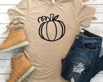 Adorable Pumpkin Tee