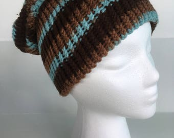 Crochet Slouchy Kids Hat