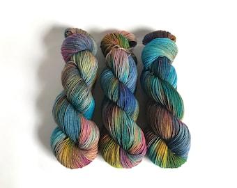 Spring Tide Sock Yarn. Nebula
