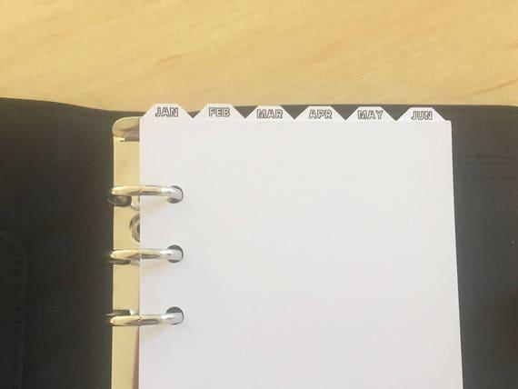 binder tab dividers