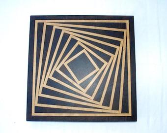 Cutting board Falling square