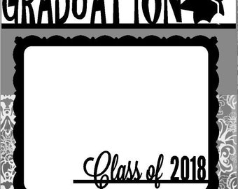 Scrapbook Page Kit Graduation Class of 2018 Premade Scrapbook Pages 2-page 12X12 Scrapbook Page Kit or Premade Layout