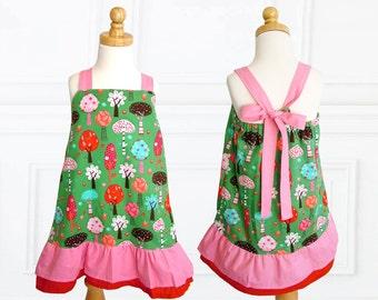 Girls dress patterns, Childrens sewing pattern PDF, Girls sewing pattern pdf,  Easy beginner pattern, toddler sewing pattern, ROBIN