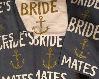 Custom Bridal Party Comfort Color Tees